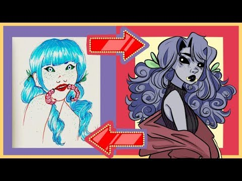 Download Old Ocs- Then To Now: Revamped