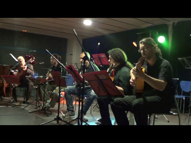 El amanecer (Quinteto guitarras 2018 - Latitud tango)