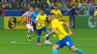 Jogo Completo - Brasil x Paraguai - Eliminatórias da Copa 2018 (29/03/2017)