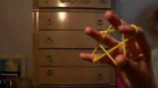 tutorial on how to do a star on a rubber band