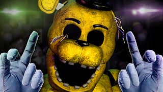 It's Finally Here! FNAF VR Golden Freddy mode