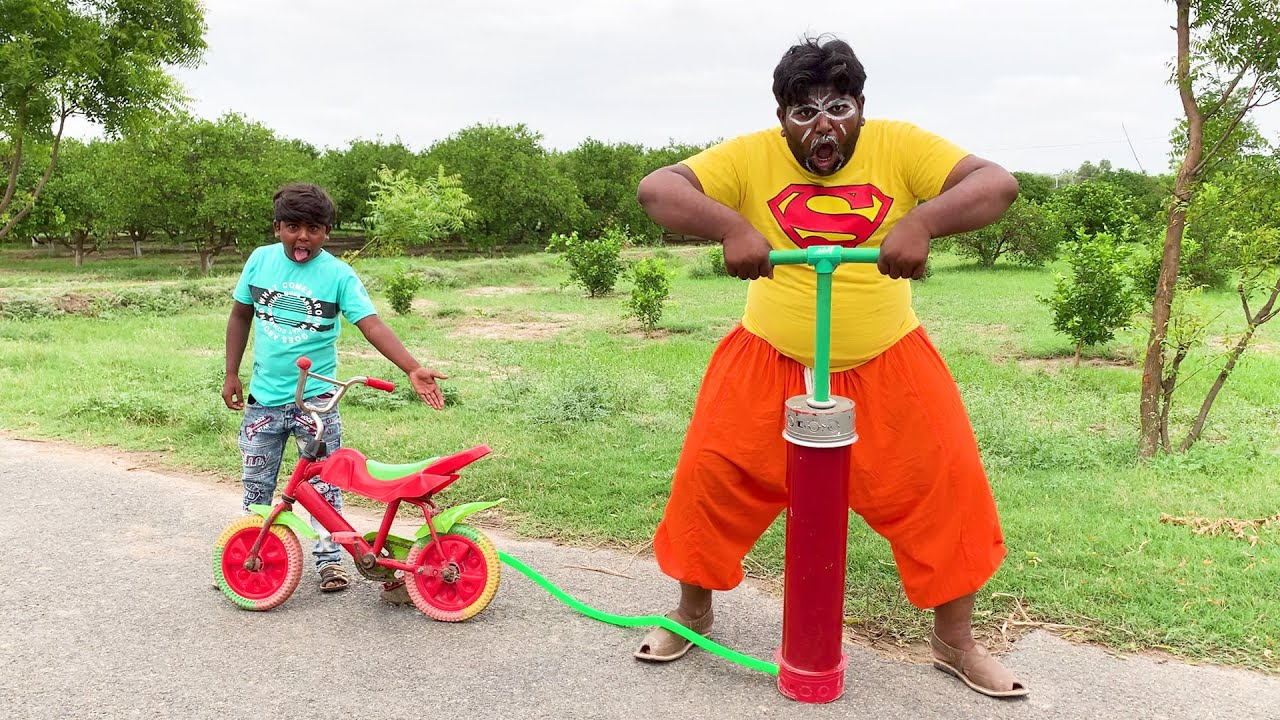 Latest Funny Video 2021 | Small Bicycle Comedy | Top New Comedy Video 2021 | Episode 10 | Oho Comedy