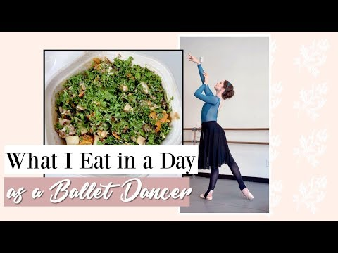 What I Eat in a Day as a Ballet Dancer | Kathryn Morgan