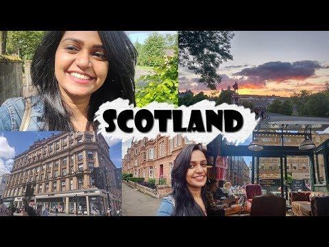 SCOTLAND with Swetha | Glasgow , Edinburgh