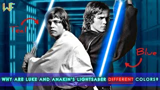 Why are Luke and Anakin's Lightsaber DIFFERENT Colors? [A Video Essay]