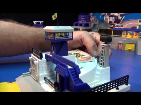 Hot Wheels World: Super Police HQ Playset Review