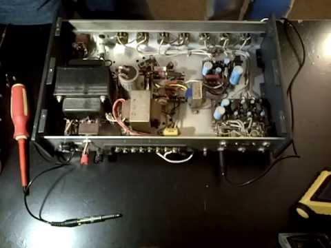 Sherman's TOA Solid State PA Amplifier Checkout