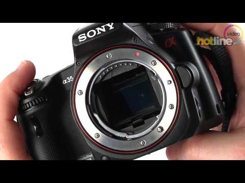 Обзор Sony Alpha SLT-A35