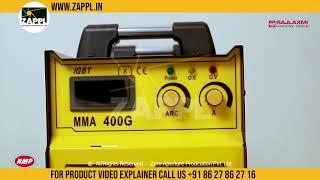 HMP 400A Inverter Welding Machine By Rajlaxmi Machine by zappl