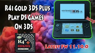 How To Use R4i Gold 3DS Plus Play DS Games On All 3DS/2DS V11.10.0-43