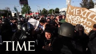 Mexico's Gas Price Hike Spurs Looting And Blockades | TIME