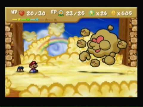 Paper Mario 64 Game Playthrough Part 98 Flower Fields Part 9 Vs