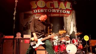 Social Distortion - Gimme The Sweet And Lowdown Pittsburgh @ Stage AE