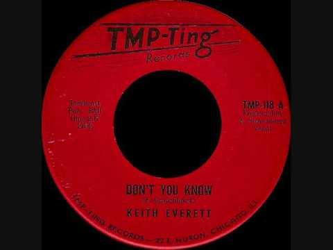 Keith Everett - Don't you know