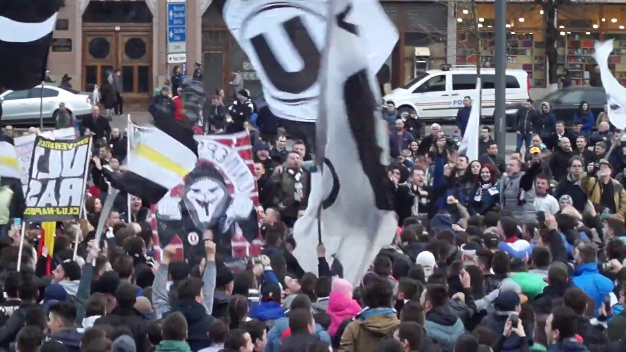 Noi suntem Peluza Șepcile Roșii | FC Universitatea Cluj | 10.03.2015 | ULTRAS