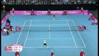 Fed Cup Highlights: Belgium 4-1 USA