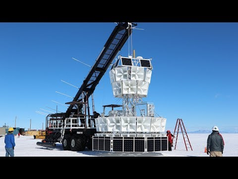 UH professor's Antarctica discovery may herald new model of physics