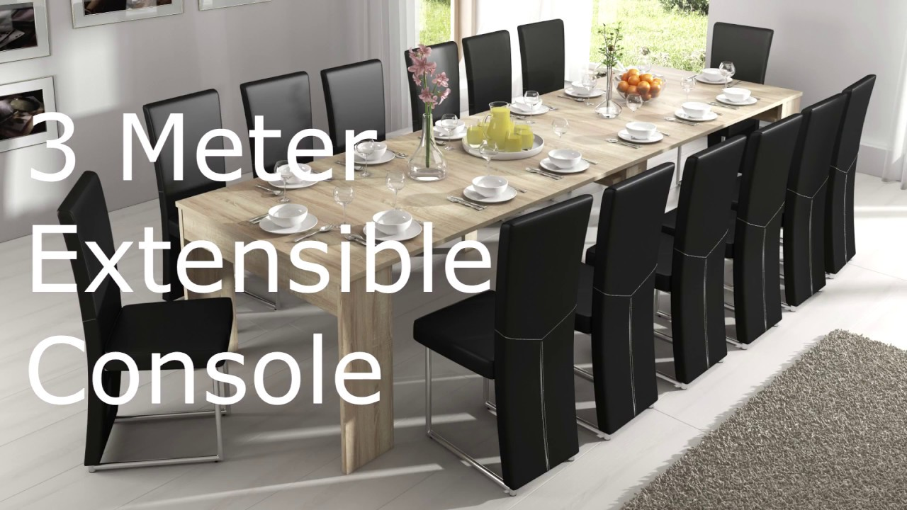 3 meter extensible console