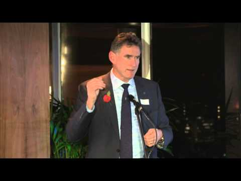October 2015 London Alumni Function – Key Speaker Ross McEwan | Massey University