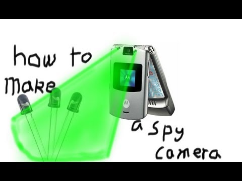 How to Make a Night Vision Camera out of a Cellphone