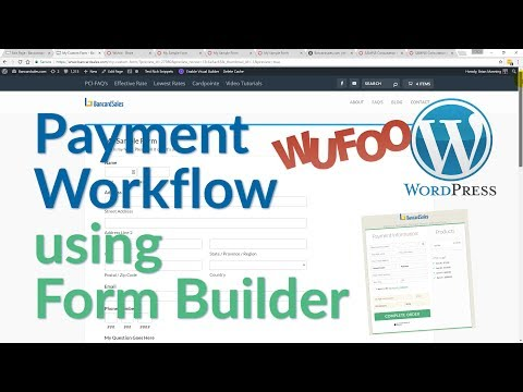 Wordpress Tutorial   Payment Process & Custom Forms  Wordpress, Wufoo, Hosted Payment Page