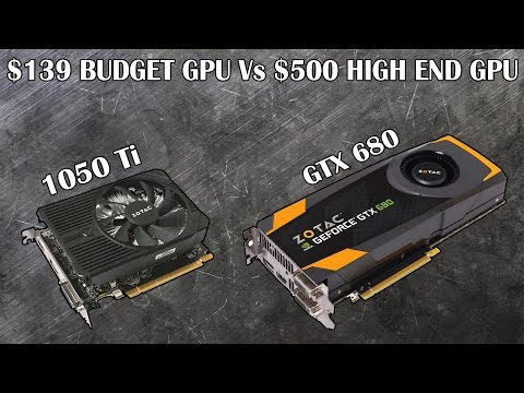 Can The $139 GTX 1050 Ti Outperform a $500 Graphics Card From 2012?