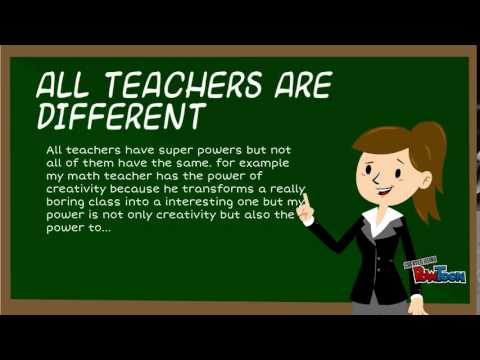Teachers are Heroes - Video for TTCP