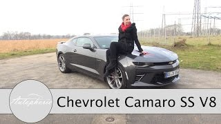 2017 Chevrolet Camaro V8 50th Anniversary Test / 6,2-Liter V8 Dampfhammer - Autophorie