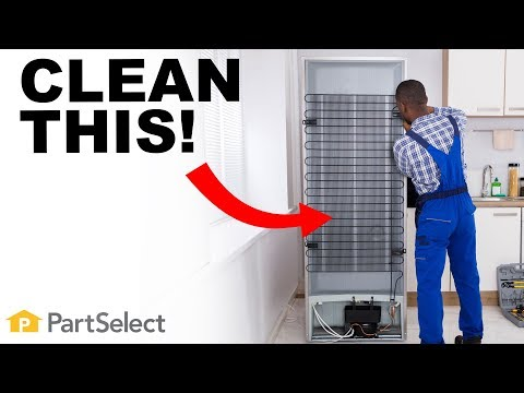 Refrigerator Troubleshooting: How to Clean Your Static Coils | PartSelect.com