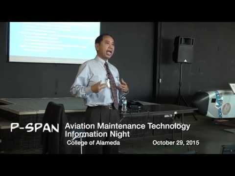P-SPAN #465: Aviation Program at College of Alameda