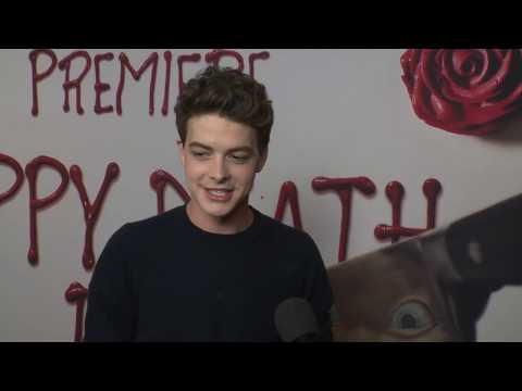 Happy Death Day Premiere LA  Itw Israel Broussard  video