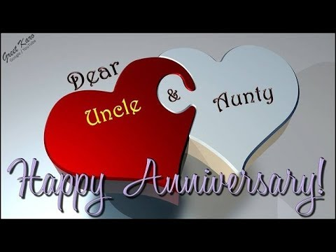 Happy Anniversary Greetings For Uncle Aunty G2b