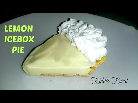 "Easy Lemon Icebox Pie ""Hello Spring Time!"""