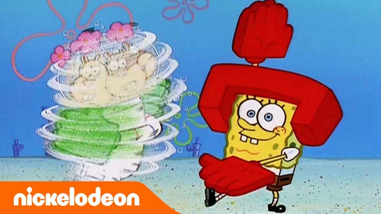 SpongeBob SquarePants | Obsesi karate | Nickelodeon Bahasa