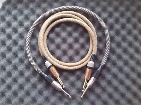 Diy guitar vintage cable
