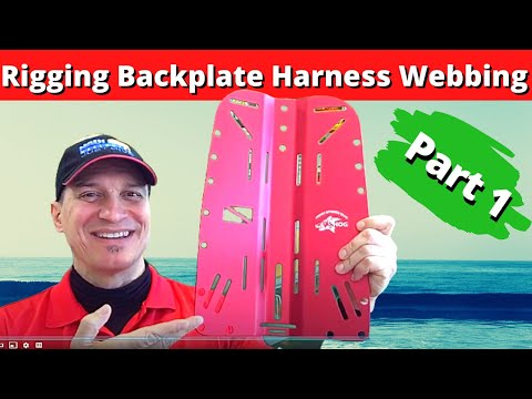 Discovery Divers Tokyo Vlog #12 - Rigging Backplate Harness Part 1
