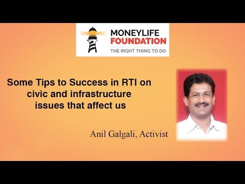 RTI Activist Anil Galgali Explains How To Use The Act Effectively For Social Good