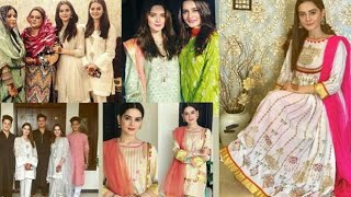 ****Aiman Khan and Minal Khan Celebrating 2nd 3rd Day of Eid with Family****