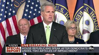 House Republicans respond to articles of impeachment l ABC News