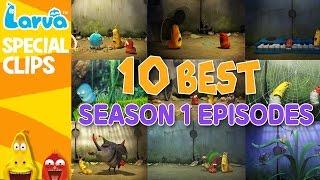 official best larva episodes - season 1 - top 10