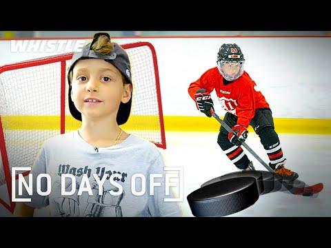 7-Year-Old Hockey Prodigy Has INSANE Potential 💪