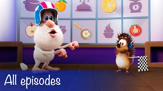 Booba - All Episodes Compilation + 9 Food Puzzles - Cartoon for kids