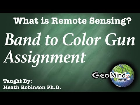 What is Remote Sensing? (7/9) - Band to Color Gun Assignment