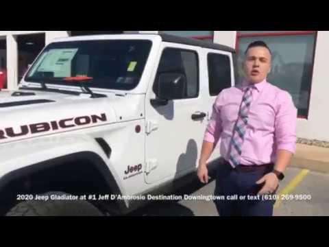 Jeff D Ambrosio Downingtown >> The 2020 Jeep Gladiator Rubicon At 1 Jeff D Ambrosio Destination Downingtown
