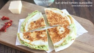 Avocado Mozzarella Quesadilla