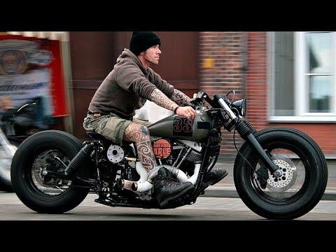😲 Мотоциклы в Стиле БОББЕР (BOBBER) 😎!