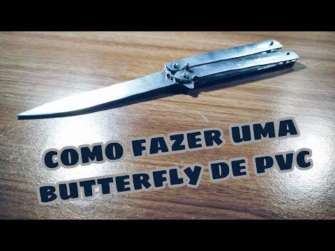 Como fazer uma Butterfly knife