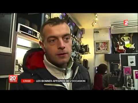 Reportage France 2 Cash Converters Lille