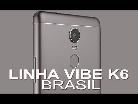 LENOVO VIBE K6 E VIBE K6 PLUS NO BRASIL - RESENHANDO