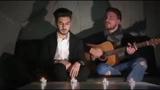 Turkish song cover with acoustic guitar